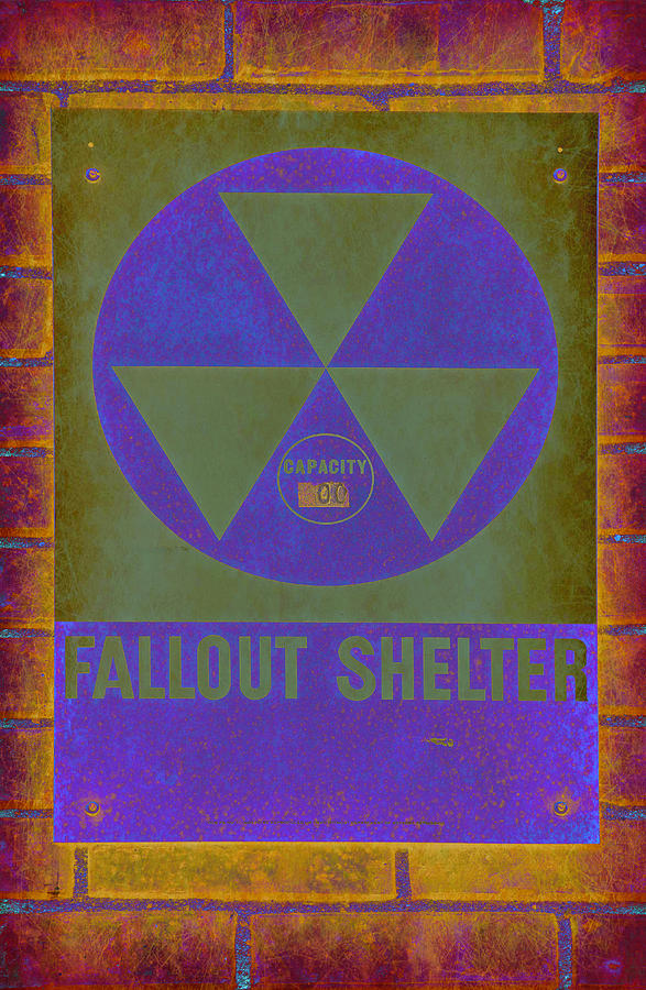 Fallout Photograph - Fallout Shelter Abstract by Stephen Stookey