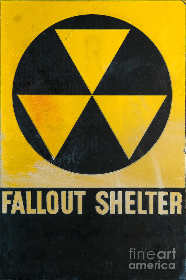 Fallout Shelter Photograph - Fallout Shelter by Olivier Le Queinec