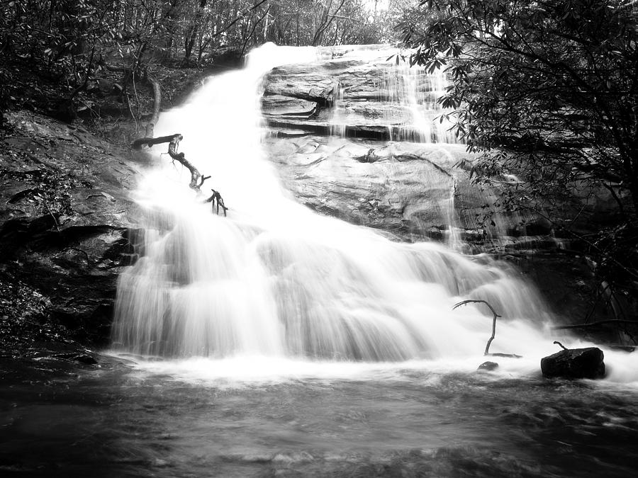 Waterfall Photograph - Falls Branch Falls by Valeria Donaldson