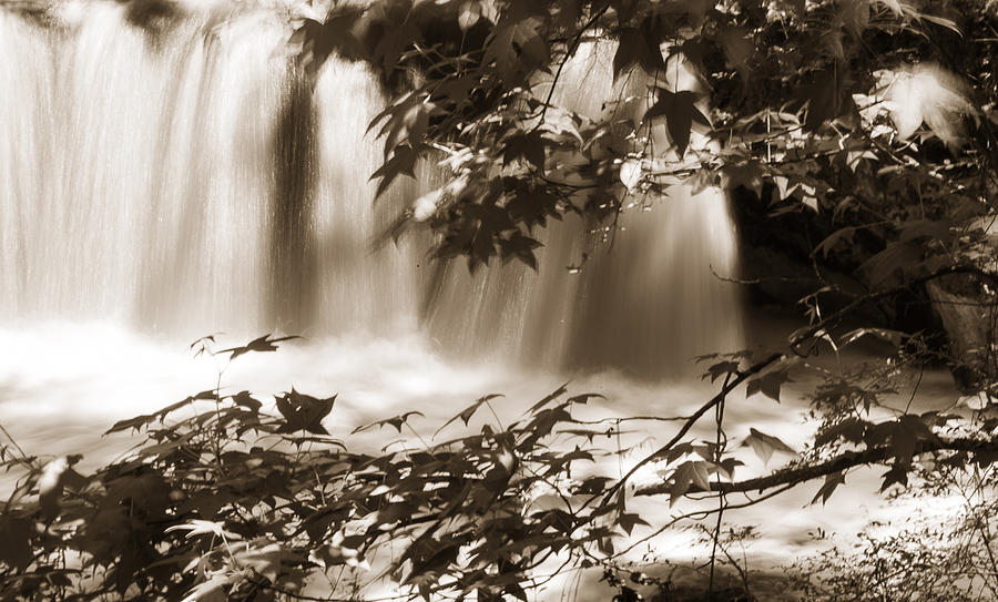 Country Photograph - Falls by Linda Olsen