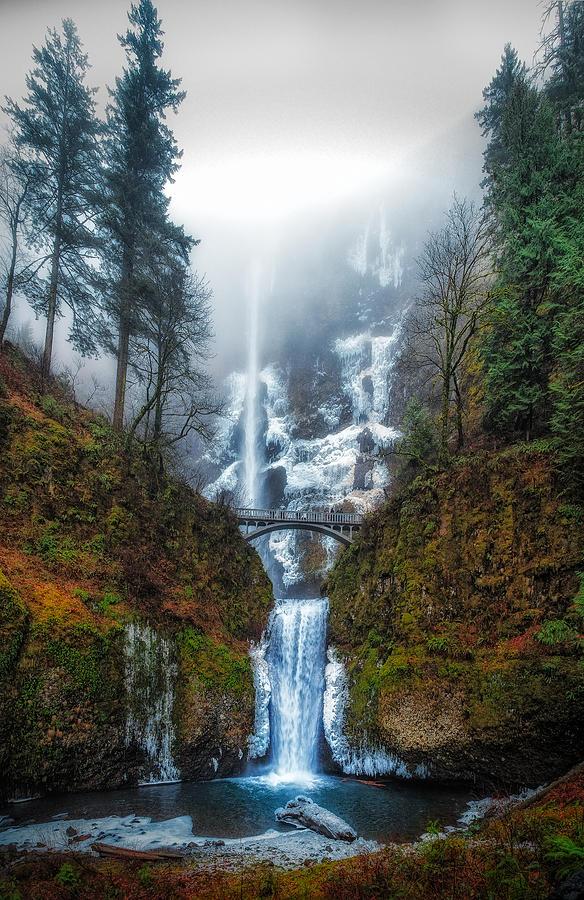Multnomah Falls Photograph - Falls Of Heaven by James Heckt