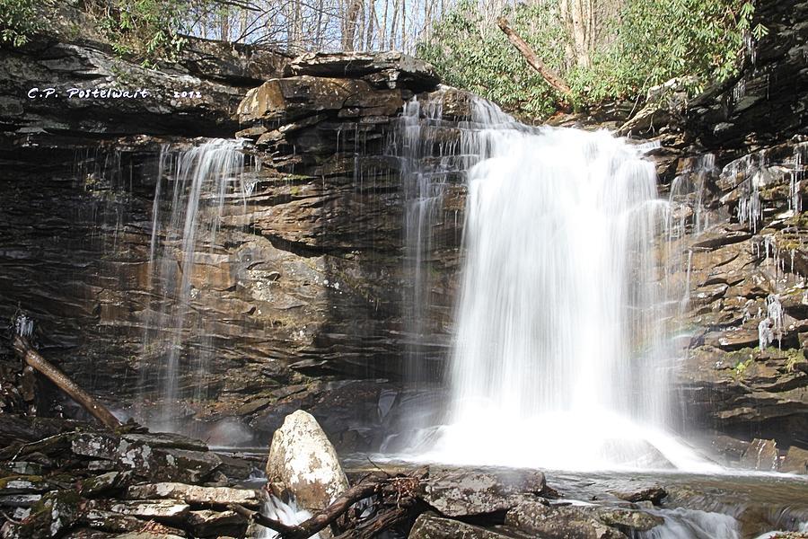 Waterfalls Photograph - Falls Of Hillscreek 2nd Falls by Carolyn Postelwait