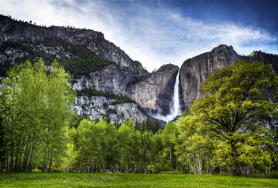 Yosemite Photograph - Falls Of The Valley by Stuart Deacon