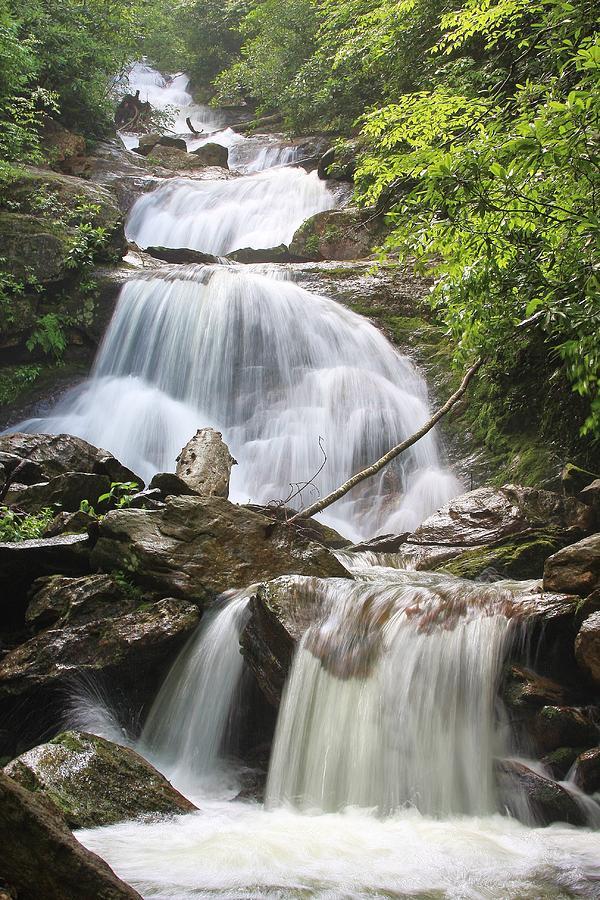 Falls On The Middle Prong North Carolina Photograph
