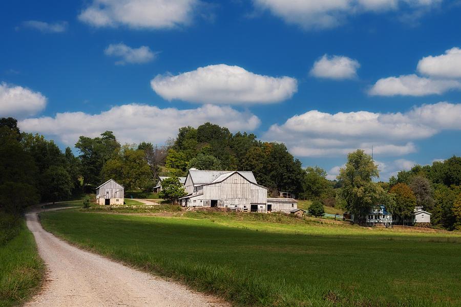 Acerage Photograph - Family Farm by Tom Mc Nemar
