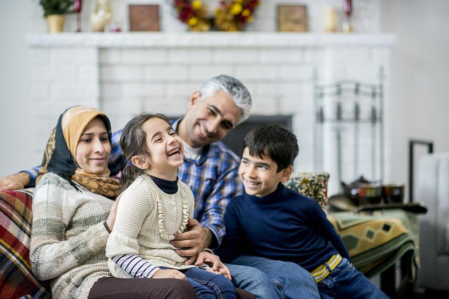 Family Having Fun Photograph by FatCamera