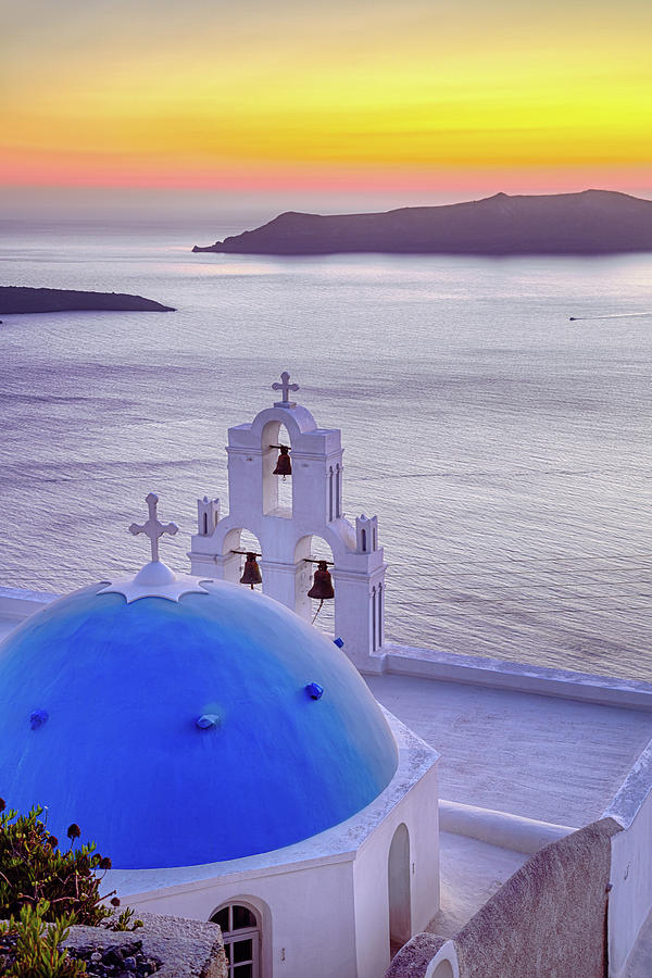 Famous Church With Blue Dome On Photograph by Mbbirdy