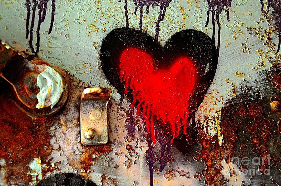 Abstract Photograph - Fanatic Heart by Lauren Leigh Hunter Fine Art Photography