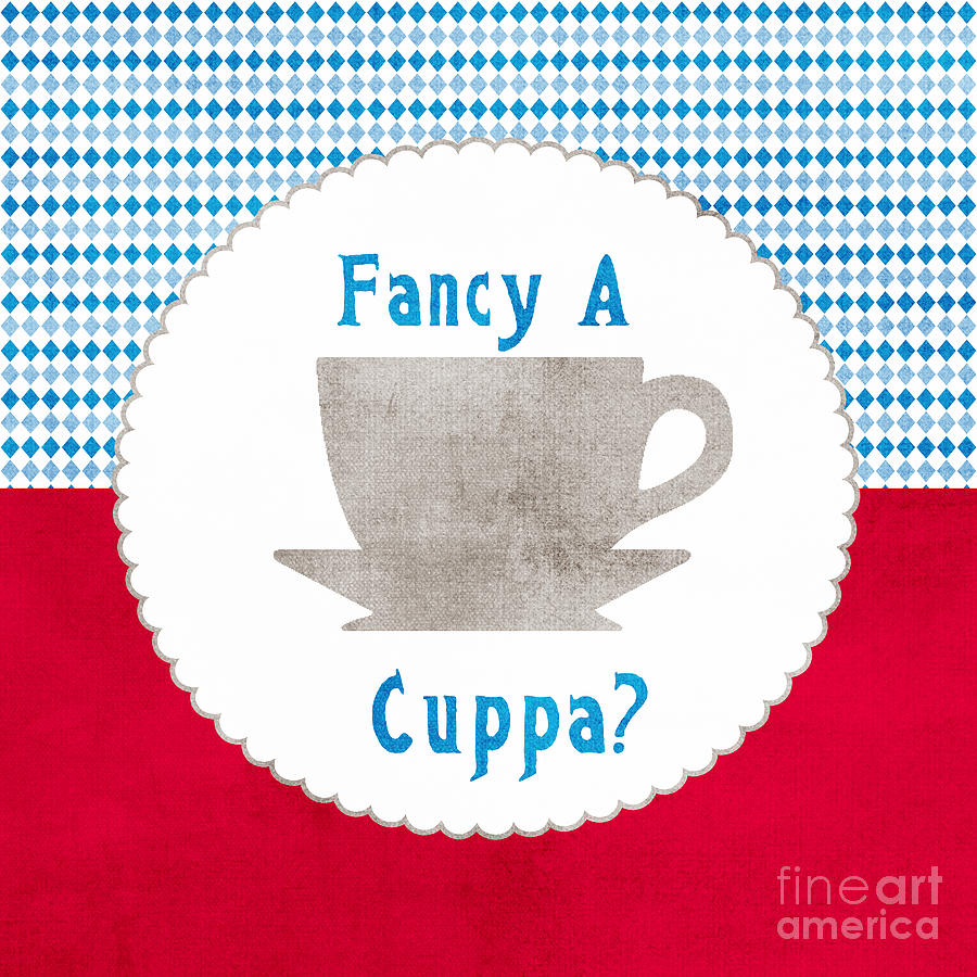 Tea Painting - Fancy a Cup by Linda Woods