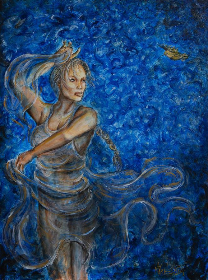 Dancer Painting - Fandango by Nik Helbig
