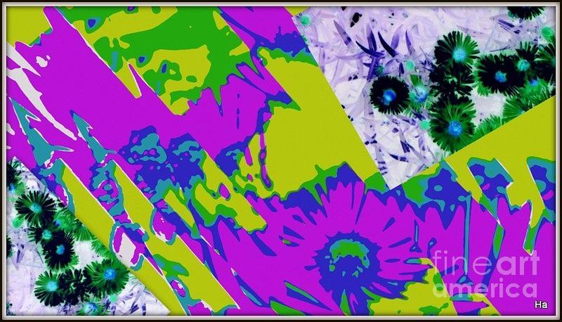 Viola Photograph - Fantasi Violaflori by Halina Nechyporuk
