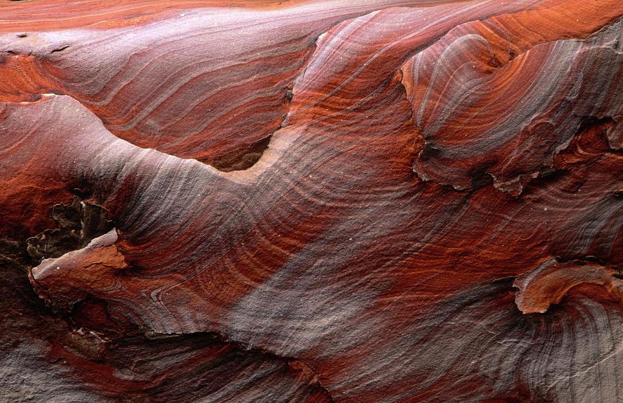 Fantastic Swirling Sandstone Patterns Photograph by Anders Blomqvist