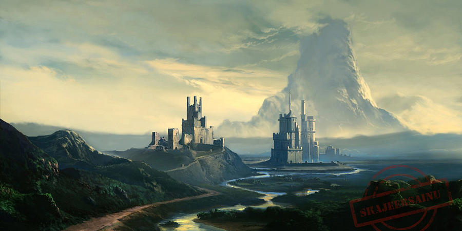 Fantasy World Digital Art by Shajeersainu Sainu