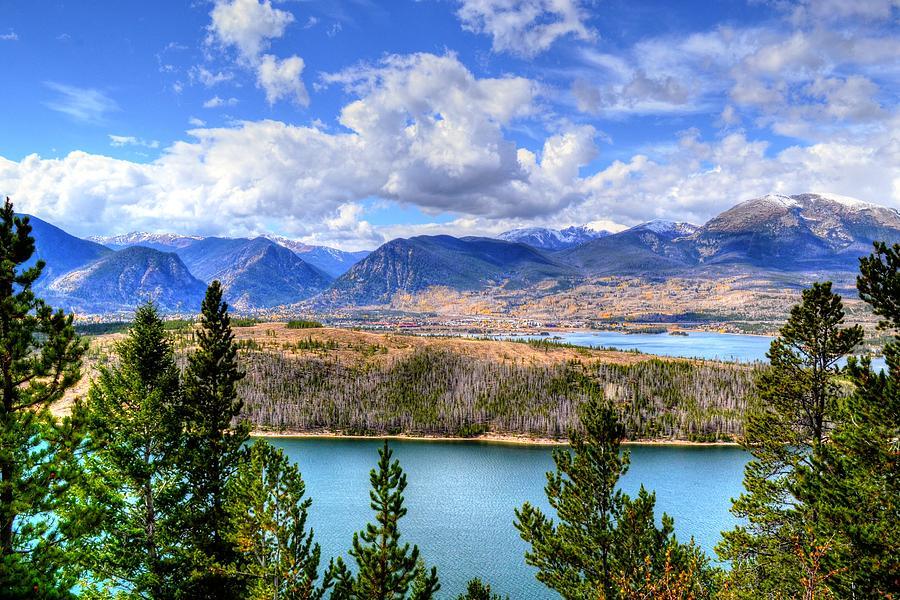 Lake Dillon Digital Art - Far Far Away by Sergio Aguayo