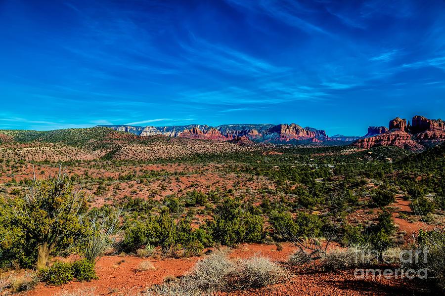 Sedona Photograph - Far View by Jon Burch Photography