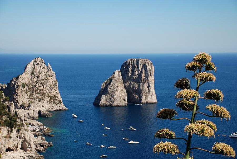 Faraglioni Photograph - Faraglioni In Capri by Dany Lison