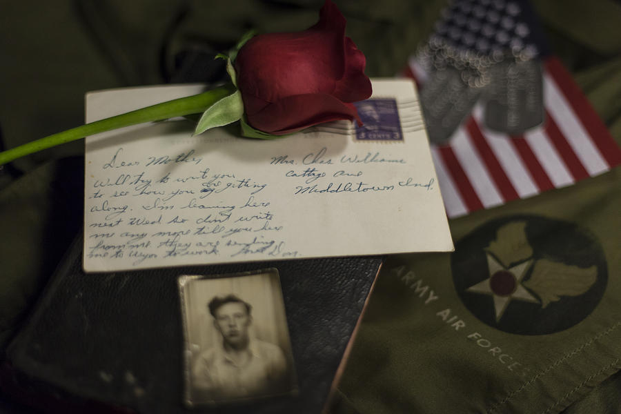 Military Photograph - Farewell  by Amber Kresge