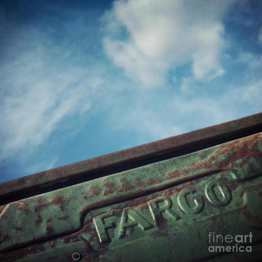 Truck Photograph - Fargo by Priska Wettstein