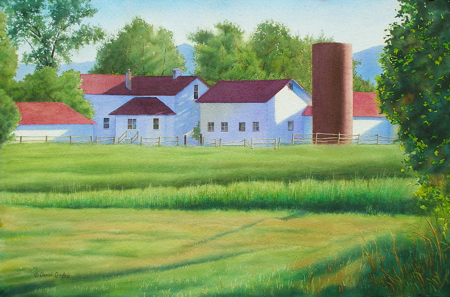 Farm at Willow Creek by Daniel Dayley