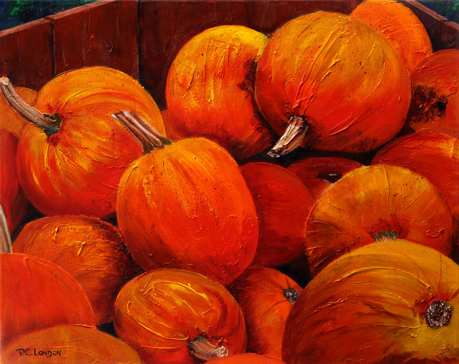 Farm Market Pumpkins by Phyllis London