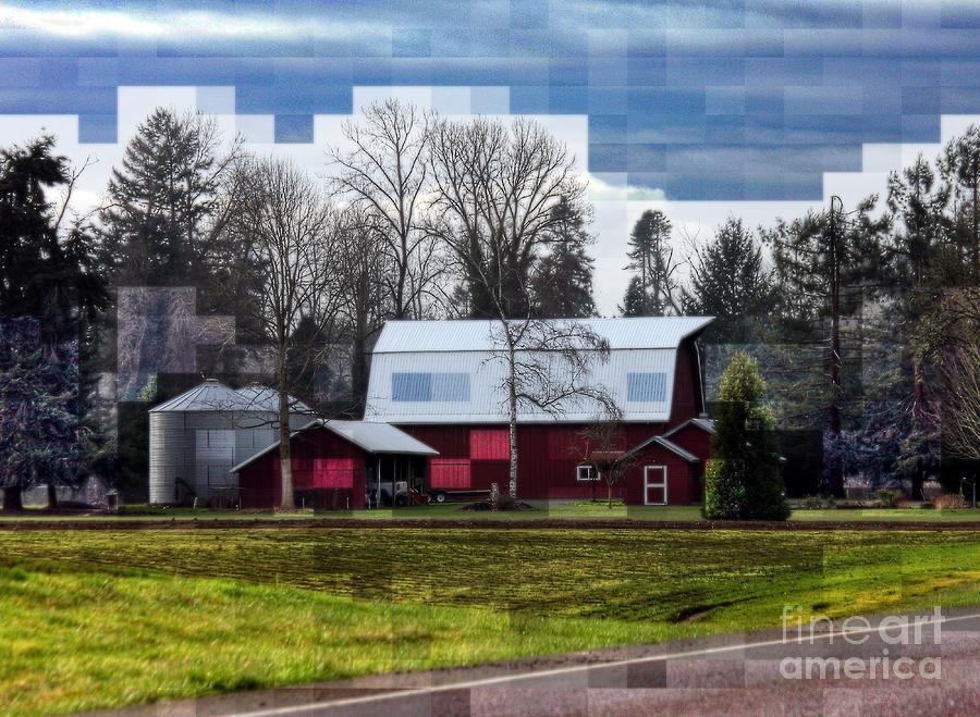 Farm Photograph - Farm Tapestry by Erica Hanel