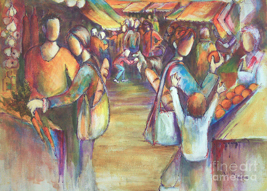 Farmers Market by Sandra Taylor-Hedges