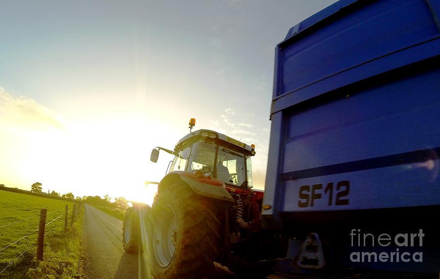 Farmer Photograph - Farmers World 2 by Aqil Jannaty