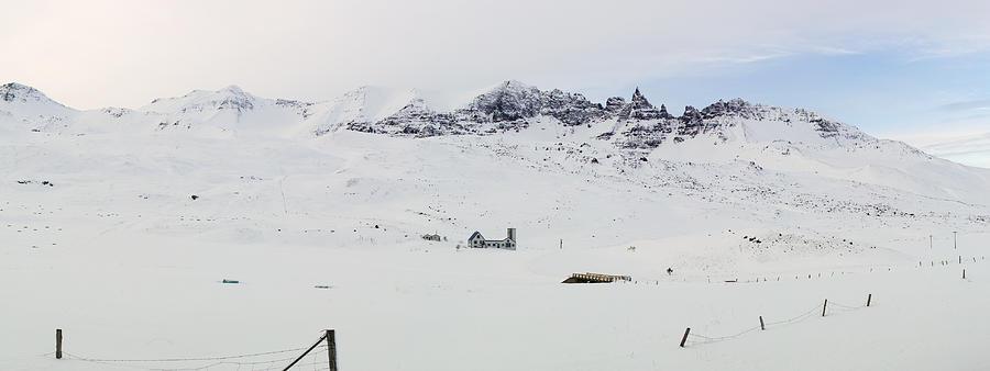 Farm Photograph - Farmhouse In Iceland by Birgir Freyr Birgisson