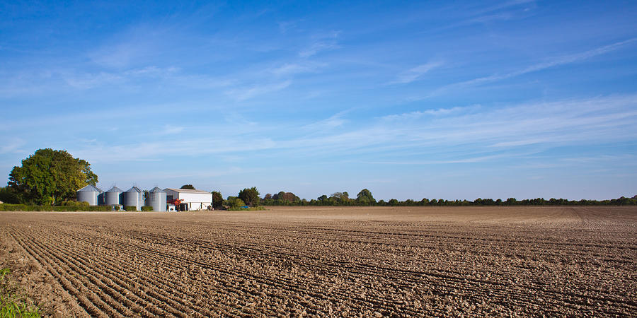 Agricultural Photograph - Farming Landscape by Tom Gowanlock