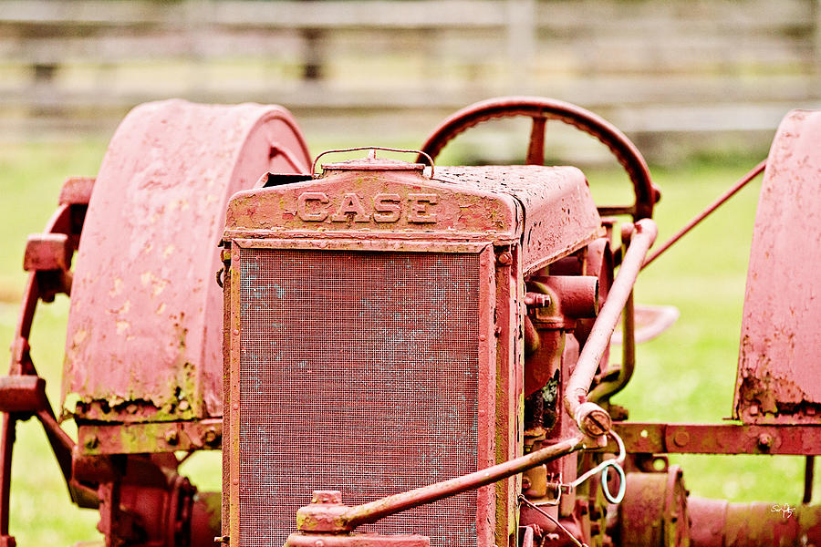 Case Photograph - Farming Relic by Scott Pellegrin