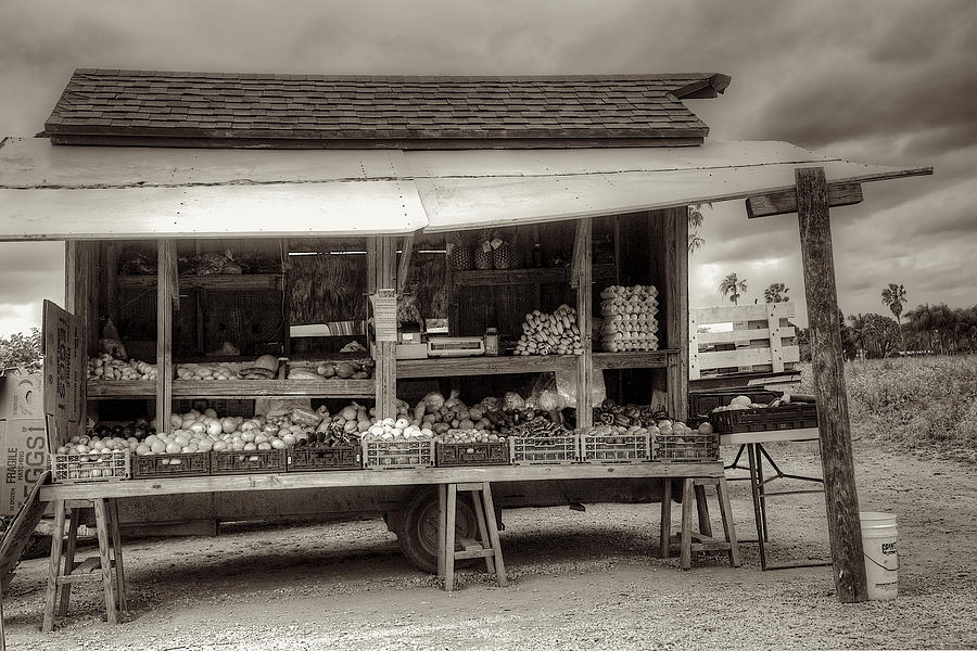 Farm Photograph - Farmstand by William Wetmore