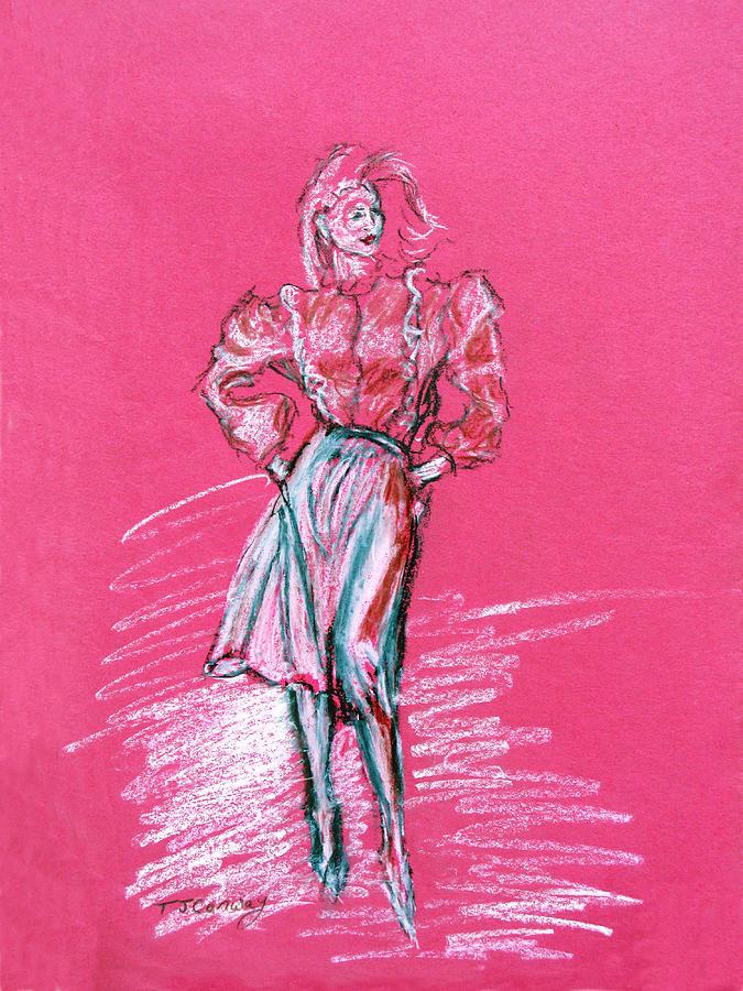 Fashion Pastel - Fashion Figure by Tom Conway