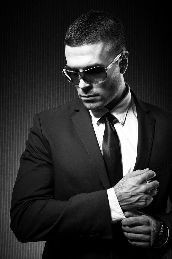 Fashion Man Photograph by Georgijevic