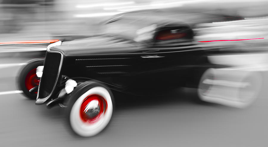 Automobile Photograph - Fast Ford Hot Rod by Phil motography Clark
