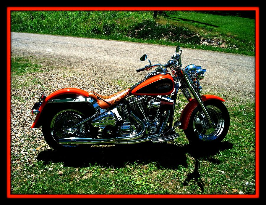 Harley Davidson Fat Boy Photograph - Fat Boy by Bruce Kessler