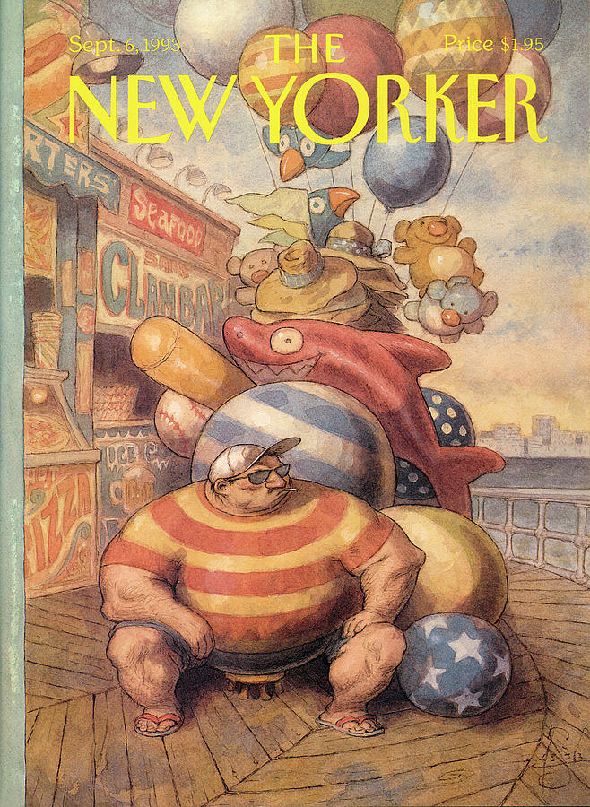 New Yorker September 6th, 1993 Painting by Peter de Seve