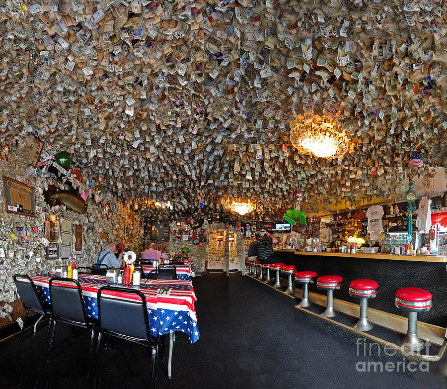 Washington Photograph - Fat Smittys Interior by Gregory Dyer