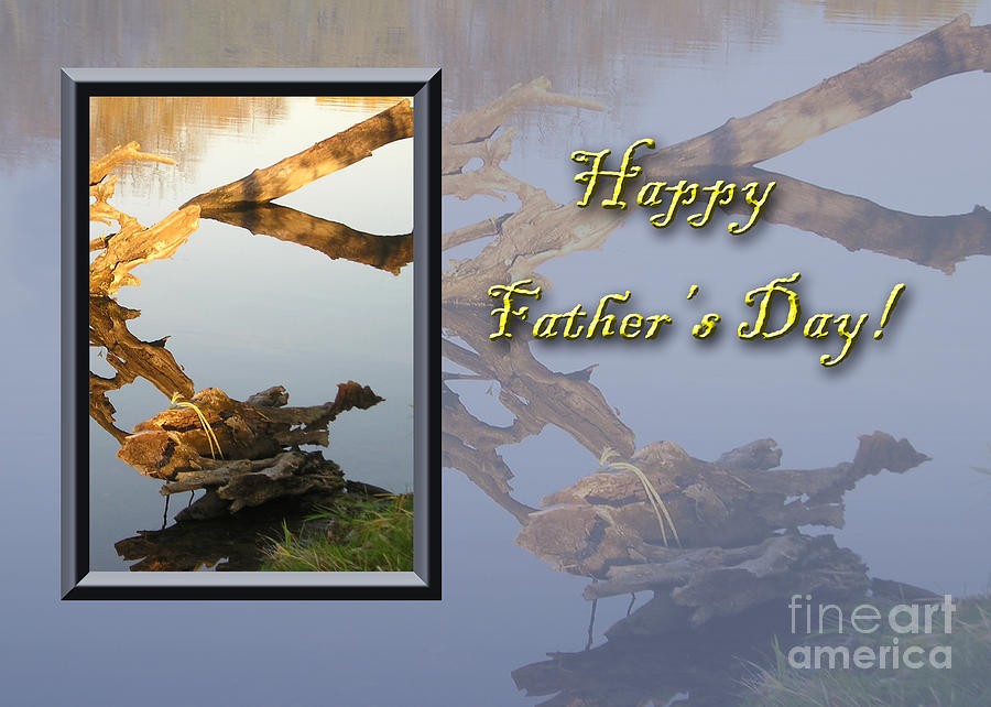 Yellow Photograph - Fathers Day Fish by Jeanette K