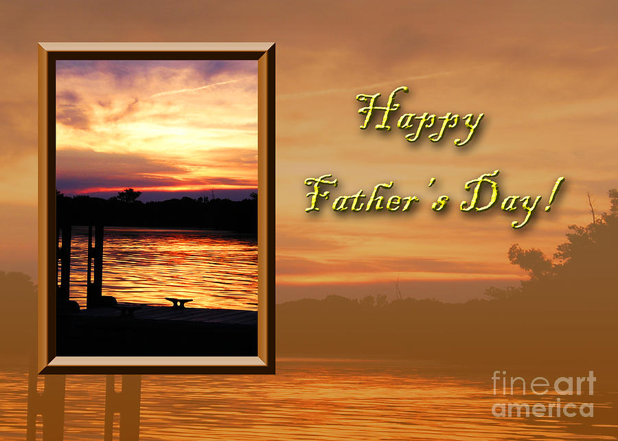 Pink Photograph - Fathers Day Pier by Jeanette K