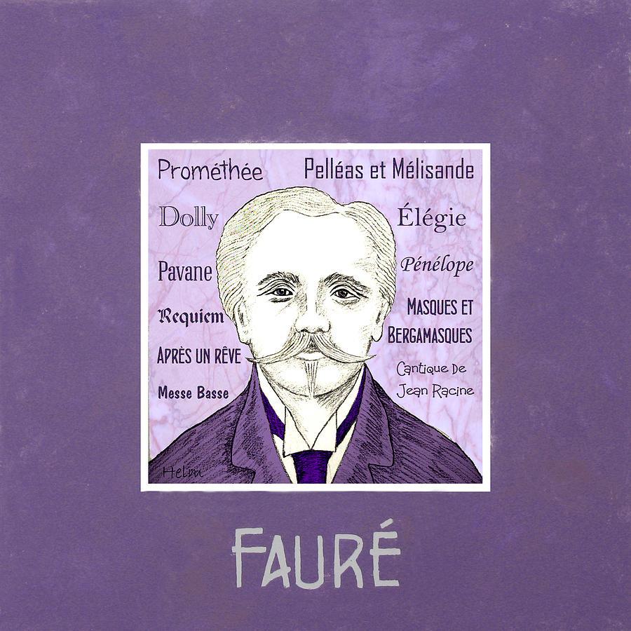 Faure Digital Art - Faure by Paul Helm
