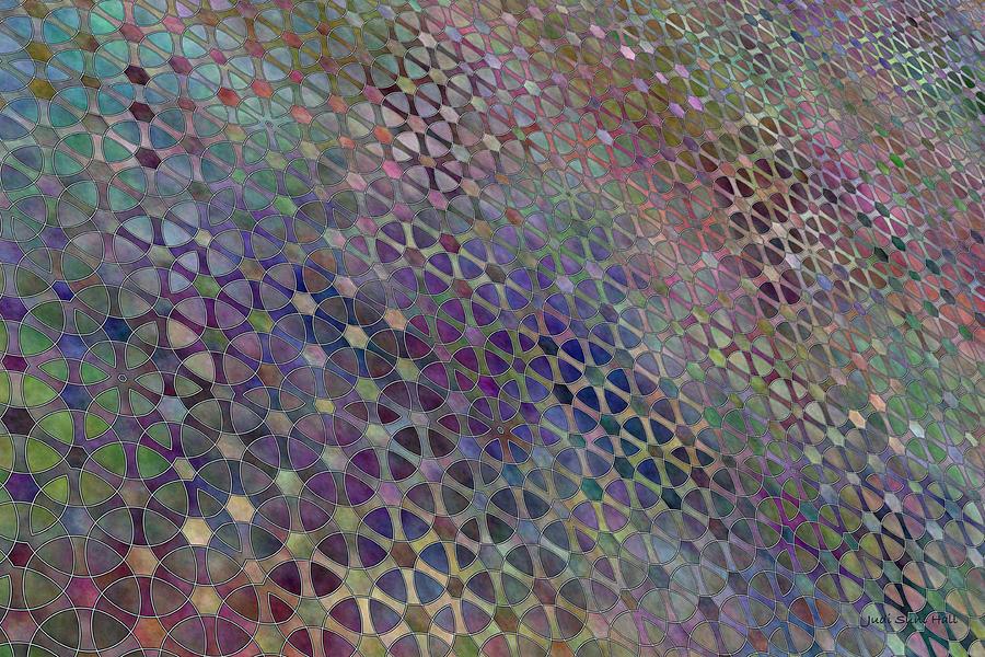 Quilt Digital Art - Favorite Old Quilt 3 by Judi Suni Hall