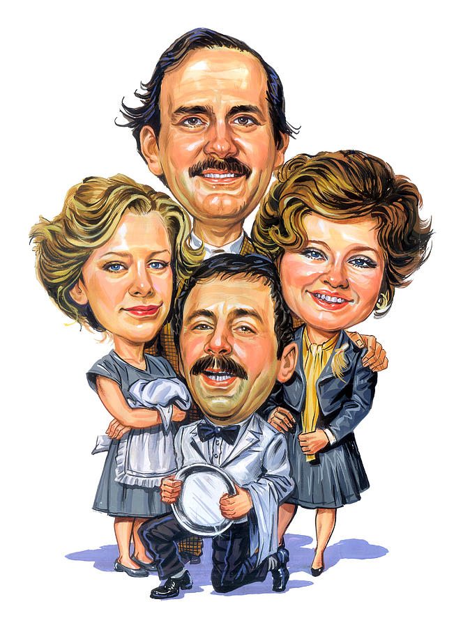 Fawlty Towers Painting By Art