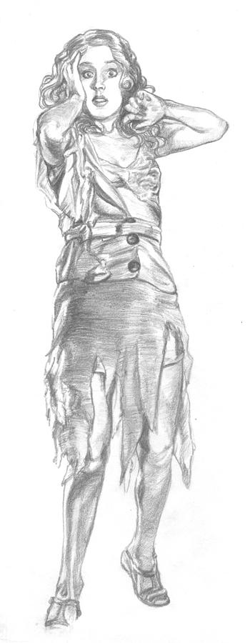 Fay Wray Drawing