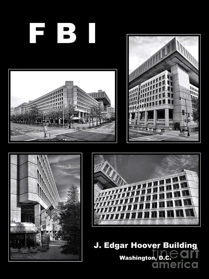 Fbi Photograph - Fbi Poster by Olivier Le Queinec