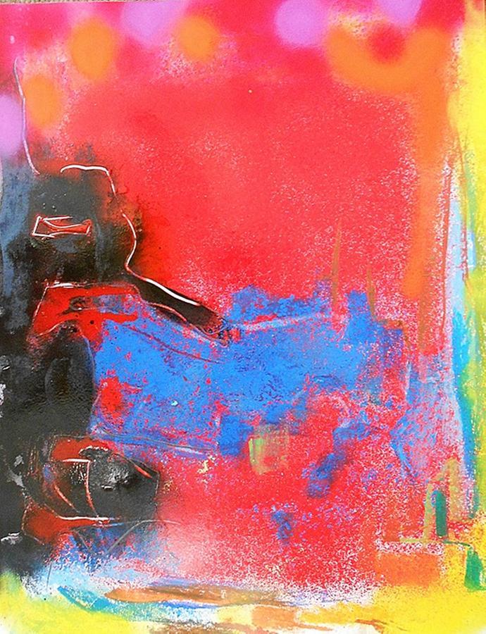 Non-figurative Painting - Fd257 by Ulrich De Balbian