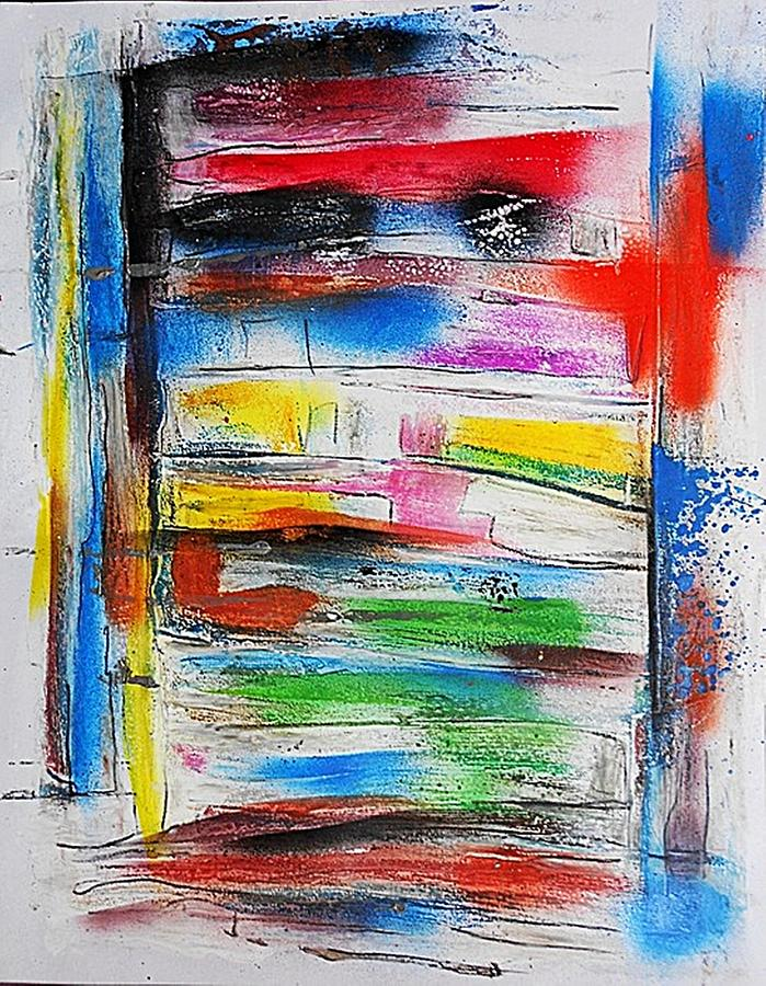 Non-figurative Painting - Fd260 by Ulrich De Balbian