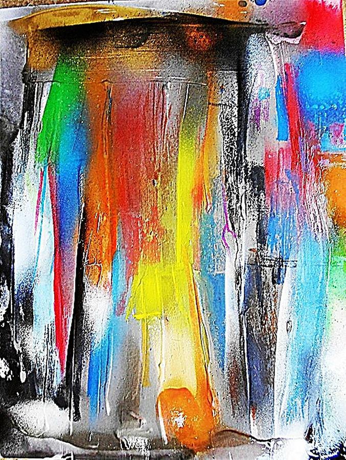 Non-figurative Painting - Fd261 by Ulrich De Balbian