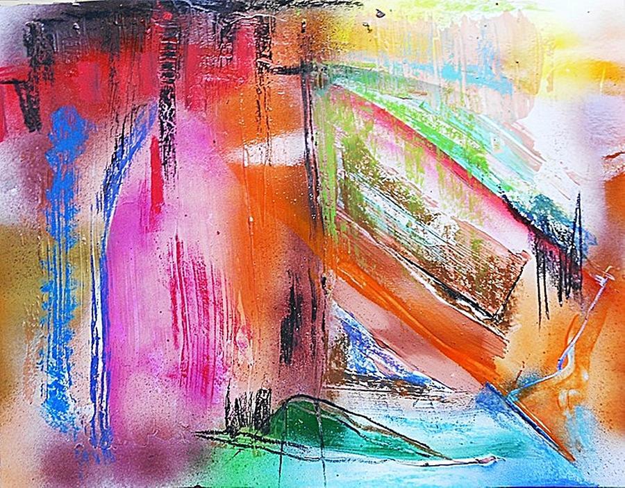 Non-figurative Painting - Fd264 by Ulrich De Balbian