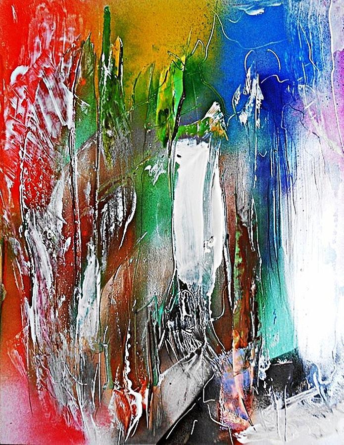 Non-figurative Painting - Fd265 by Ulrich De Balbian