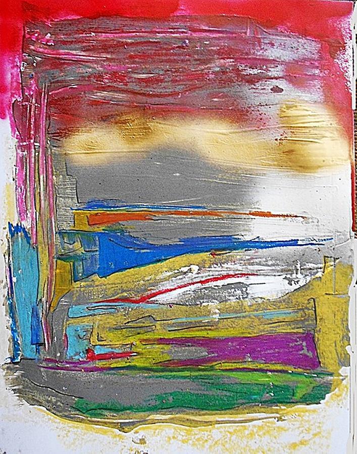 Non-figurative Painting - Fd266 by Ulrich De Balbian